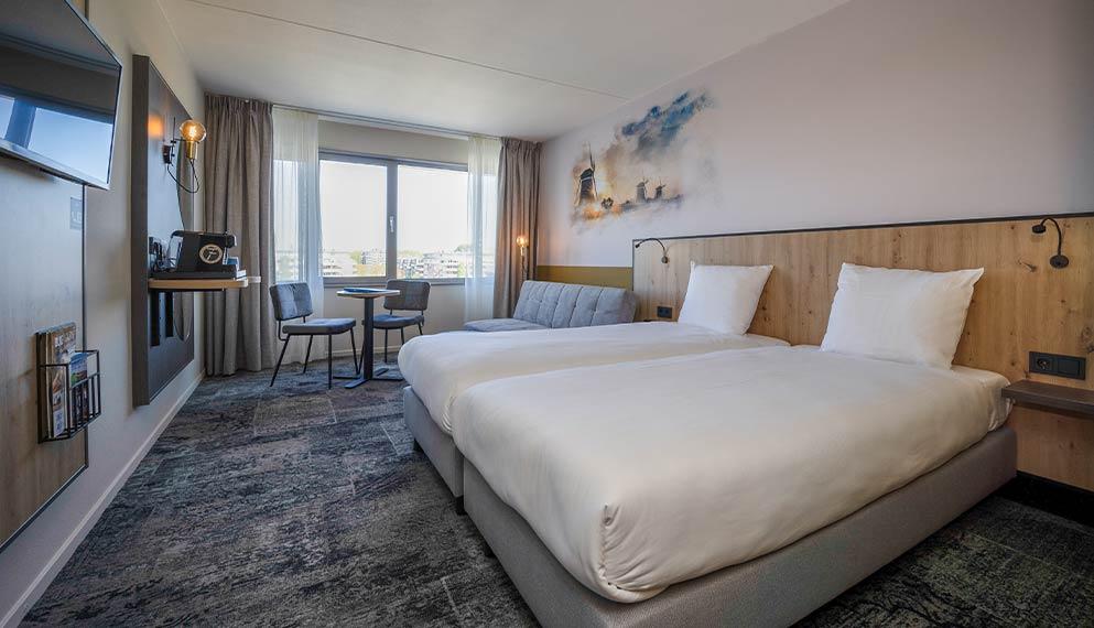 Hotelkamer bij den haag hotel leidschendam den haag - Kamer met douche in de kamer ...